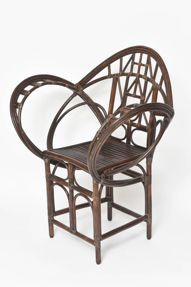 Mcguire Butterfly Accent Chair M 131 At 1stdibs
