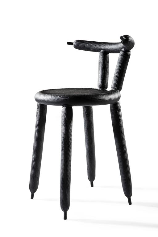 Black Carbon Balloon Chair By Marcel Wanders 2