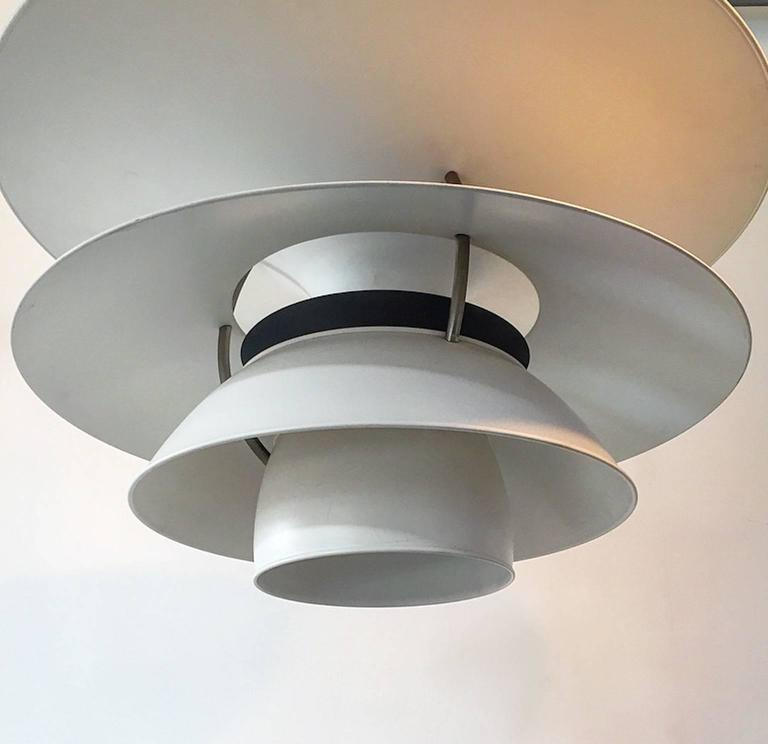 Danish X-Large Ceiling Lamp Charlottenborg by Poul Henningsen for Louis Poulsen For Sale