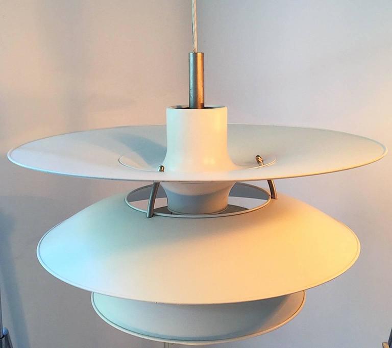 Mid-Century Modern X-Large Ceiling Lamp Charlottenborg by Poul Henningsen for Louis Poulsen For Sale