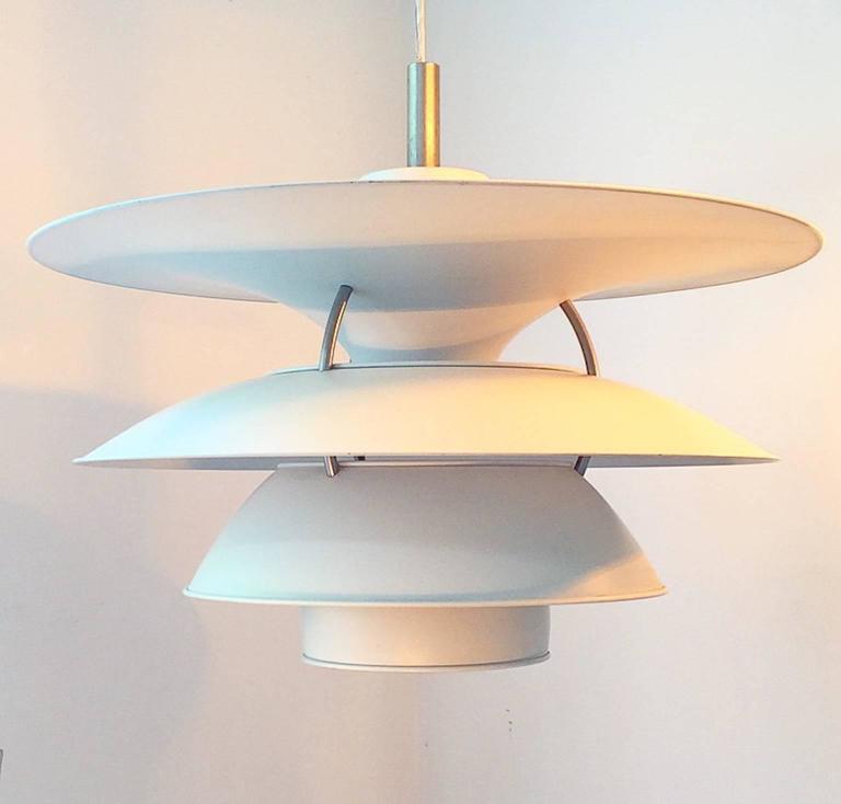 Aluminum X-Large Ceiling Lamp Charlottenborg by Poul Henningsen for Louis Poulsen For Sale