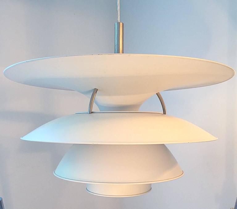 X-Large Ceiling Lamp Charlottenborg by Poul Henningsen for Louis Poulsen For Sale 2