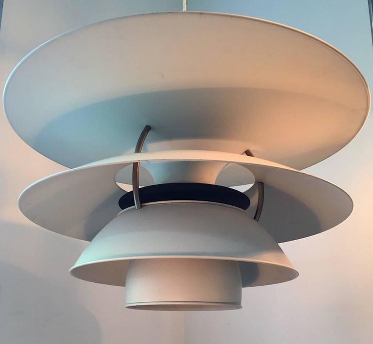 X-Large Ceiling Lamp Charlottenborg by Poul Henningsen for Louis Poulsen For Sale 1