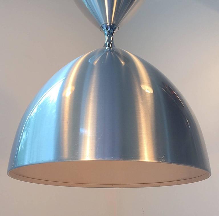 giant ceiling light vega by jo hammerborg for fog and mørup denmark