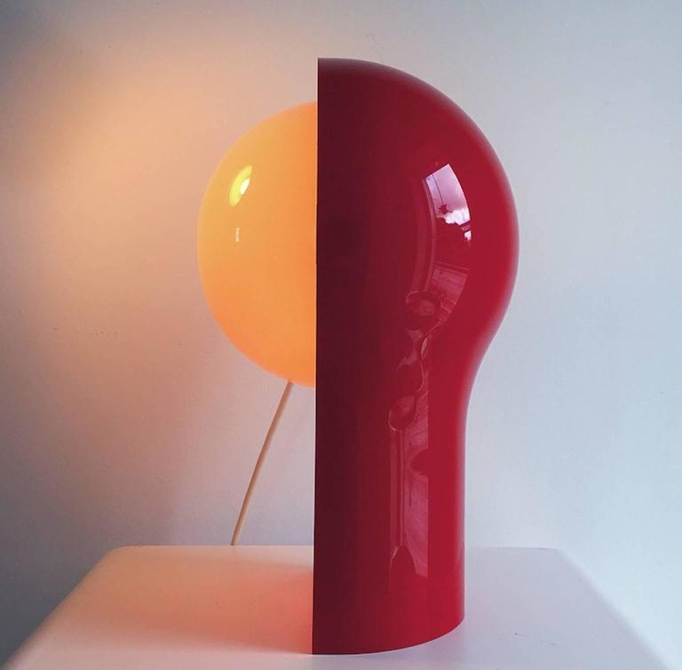 Telegono Table Lamp by Vico Magistretti for Artemide, 1968 In Excellent Condition In Haderslev, DK