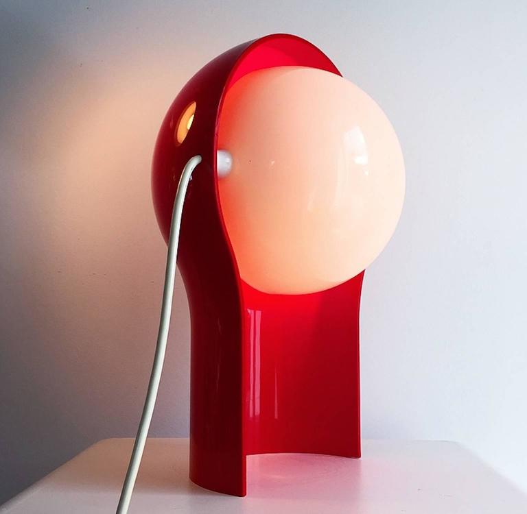 Mid-Century Modern Telegono Table Lamp by Vico Magistretti for Artemide, 1968