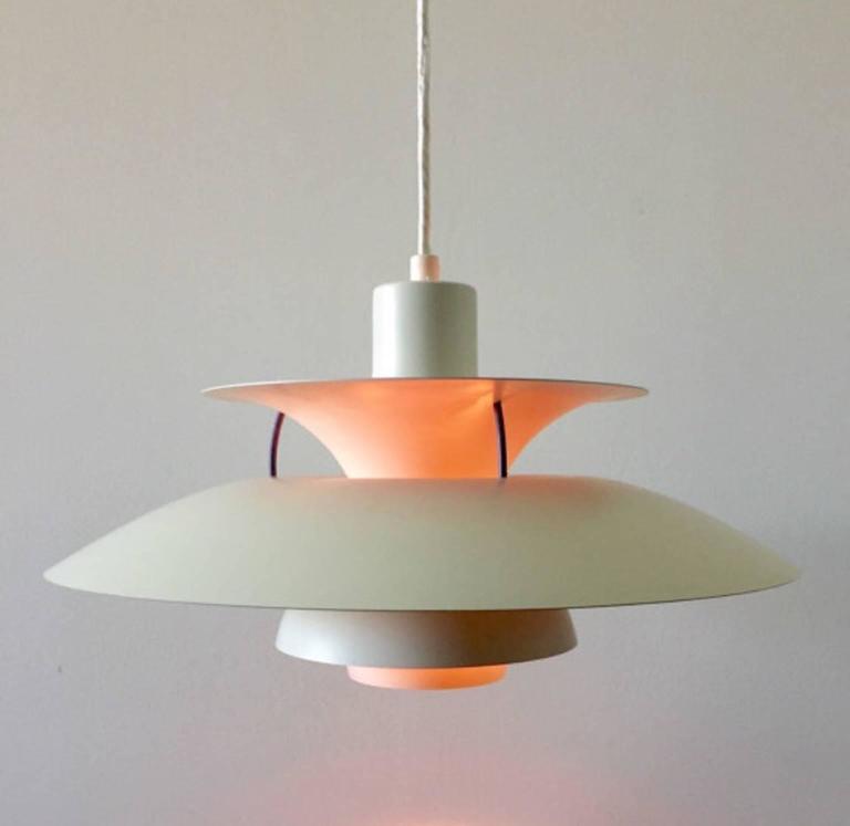 poul henningsen ph5 ceiling light by louis poulsen for sale at 1stdibs. Black Bedroom Furniture Sets. Home Design Ideas