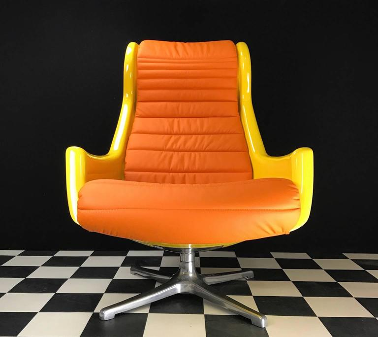 Unique Galaxy Swivel Chair By Dux Of Sweden For Sale At