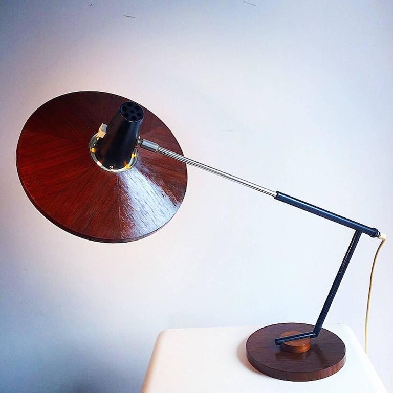 Mid-Century Modern George Frydman mid-Century Temde Desk Lamp Type 30 For Sale