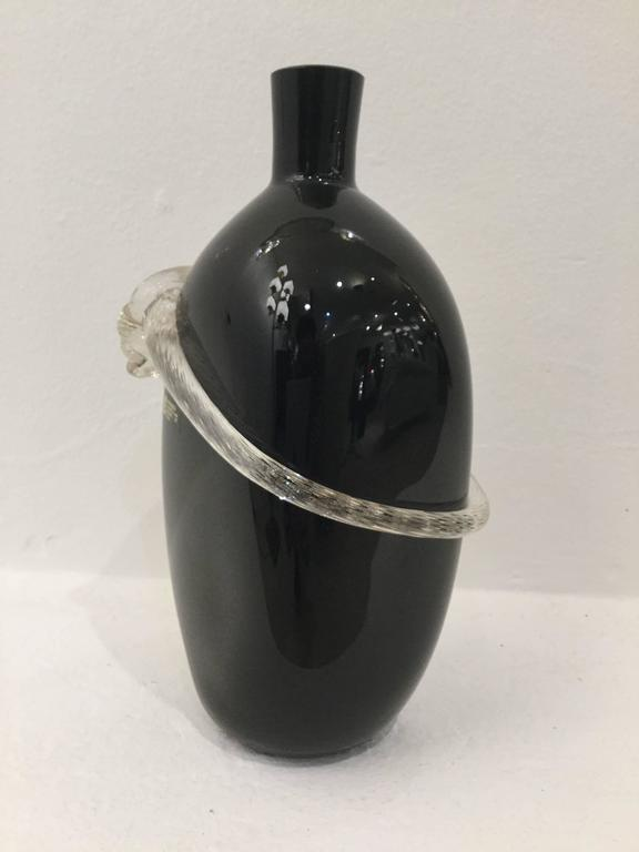 Fine Italian Murano glass vase by Cenedese & Albarelli, circa 1970s.