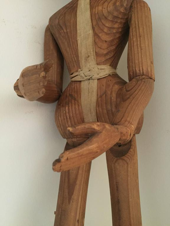Lay Figure or Artist Mannequin, 19th Century In Excellent Condition For Sale In Schellebelle, BE