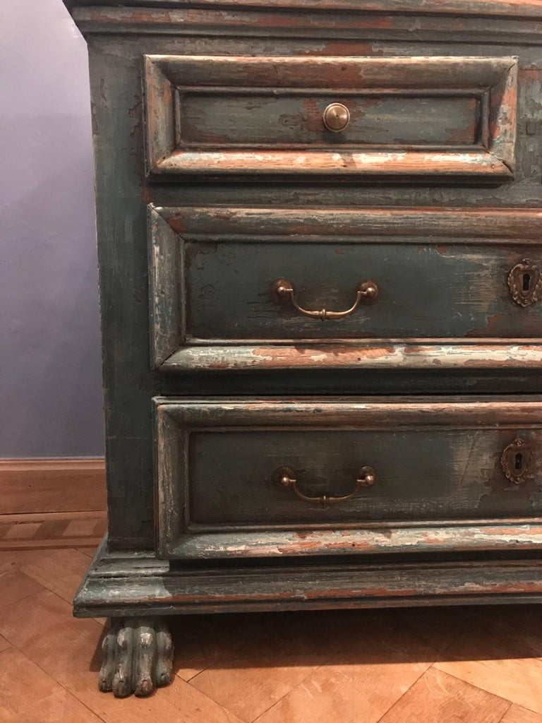 20th Century Painted Chest of Drawers For Sale