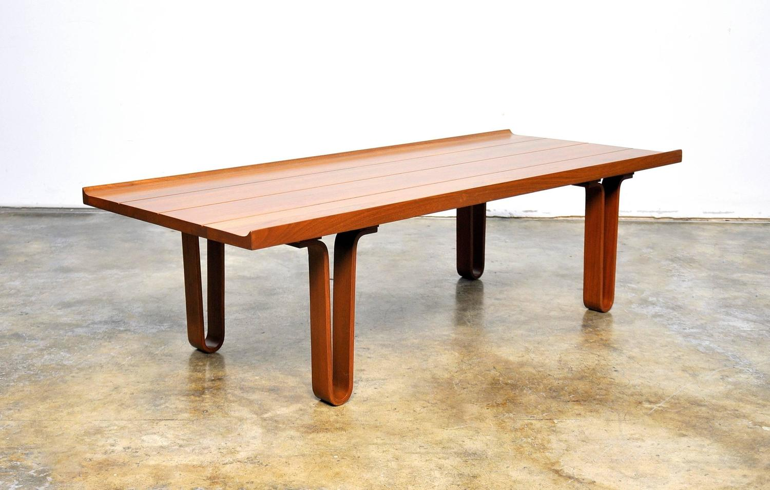 Edward Wormley For Dunbar Coffee Table Bench Model 4699 1950s At 1stdibs