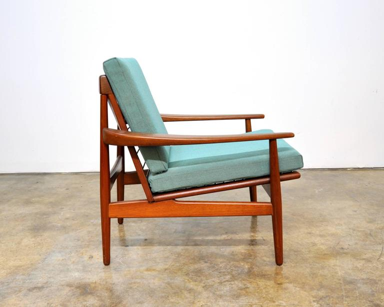 Grete Jalk For Glostrup Mobelfabrik Teak Lounge Chair At 1stdibs