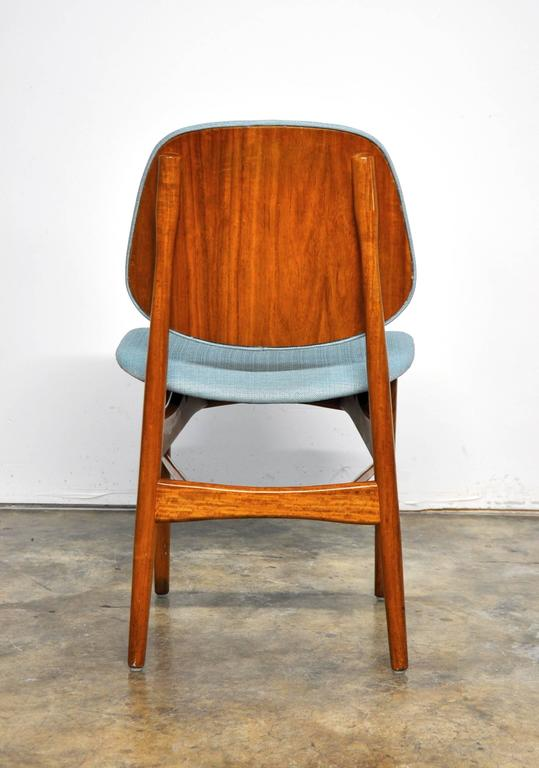Mid-20th Century Set of Four Teak Dining Chairs, Attributed to Finn Juhl For Sale