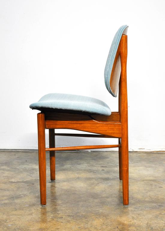 Set of Four Teak Dining Chairs, Attributed to Finn Juhl For Sale 1