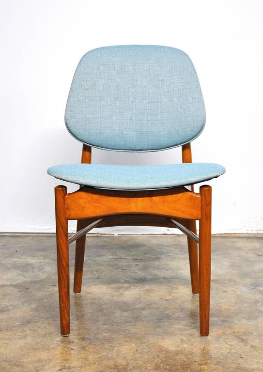 Set of Four Teak Dining Chairs, Attributed to Finn Juhl For Sale 2