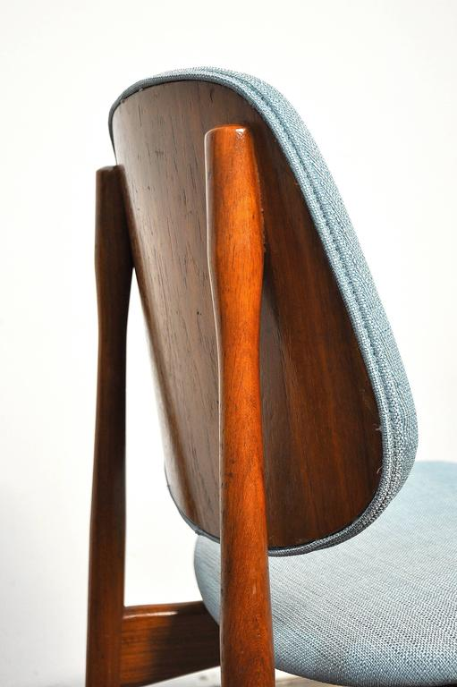 Set of Four Teak Dining Chairs, Attributed to Finn Juhl For Sale 3