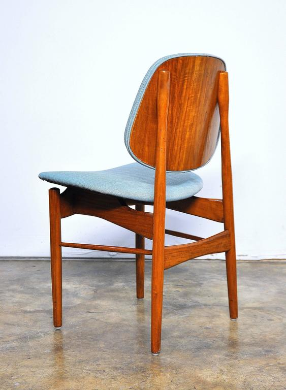 Danish Set of Four Teak Dining Chairs, Attributed to Finn Juhl For Sale