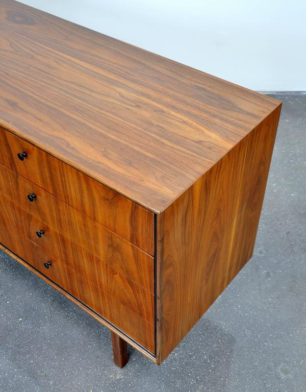Milo Baughman for Arch Gordon Walnut Double Dresser 4