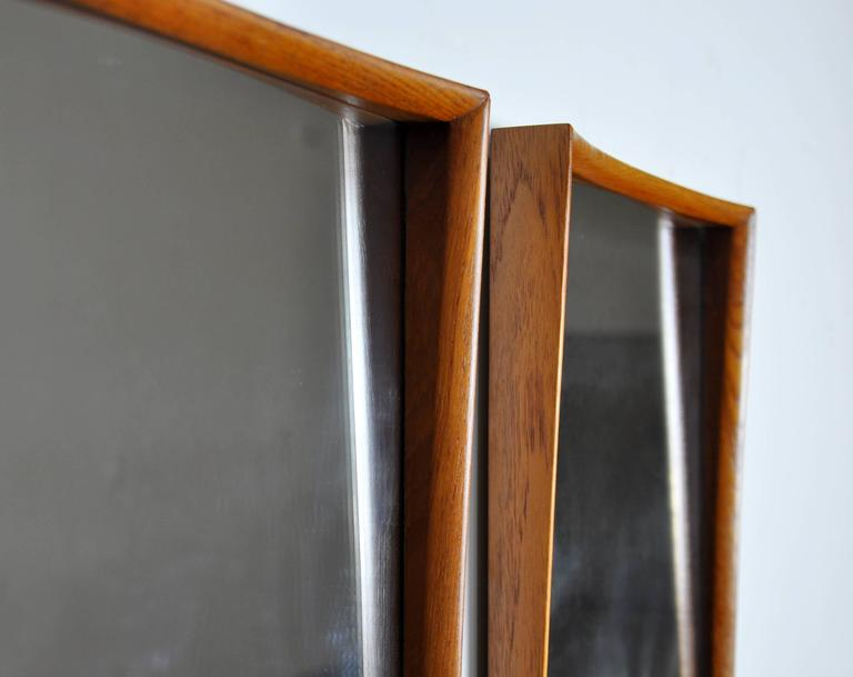 Pair of Svend Madsen for Falster Teak Mirrors 2