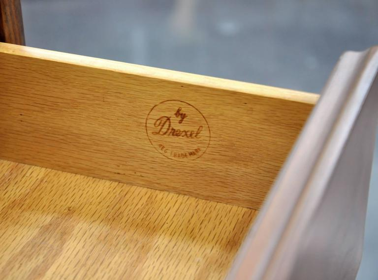 Kipp Stewart and Stewart MacDougall for Drexel Declaration Walnut Triple Dresser For Sale 3