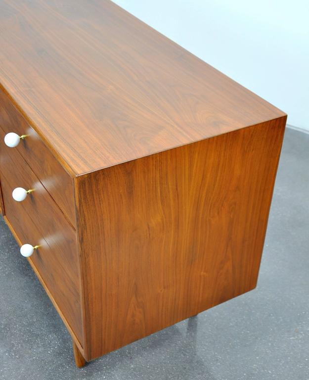 Kipp Stewart and Stewart MacDougall for Drexel Declaration Walnut Triple Dresser 5