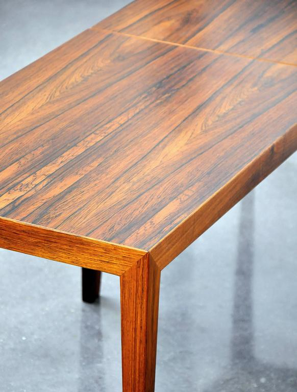 Pair Of Severin Hansen Rosewood Side Tables For Sale 2