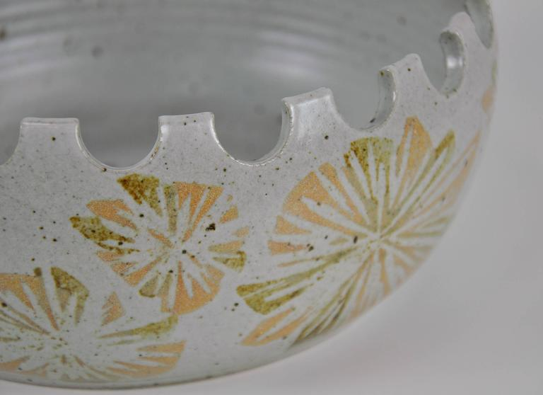 American David Cressey California Studio Pottery Planter For Sale