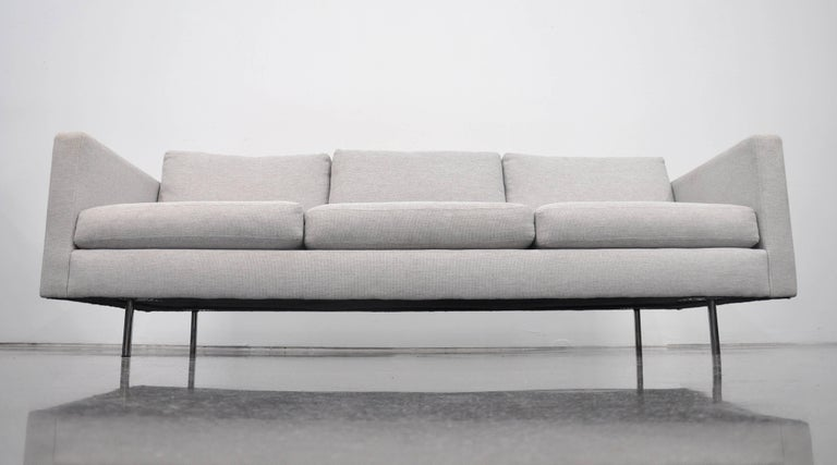 Milo Baughman for Thayer Coggin Gray Design Classic Sofa For Sale 2
