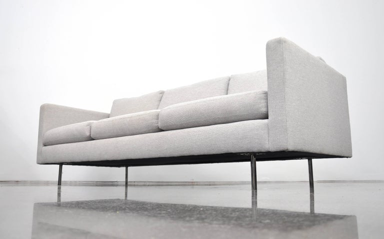 Milo Baughman for Thayer Coggin Gray Design Classic Sofa For Sale 3
