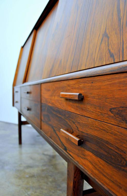 Borge Seindal Rosewood Dry Bar Sideboard, Vestergaard Mobler, Denmark, 1960s 1