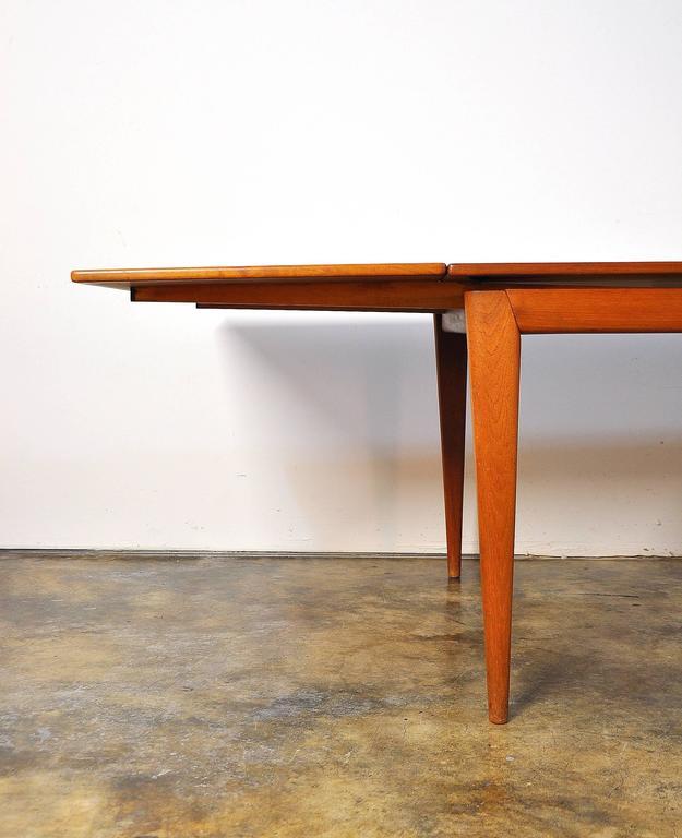 Large Niels Moller Teak Expandable Dining Table Model 12  : NielsMollerTeakDiningTable10l from www.1stdibs.com size 625 x 768 jpeg 42kB