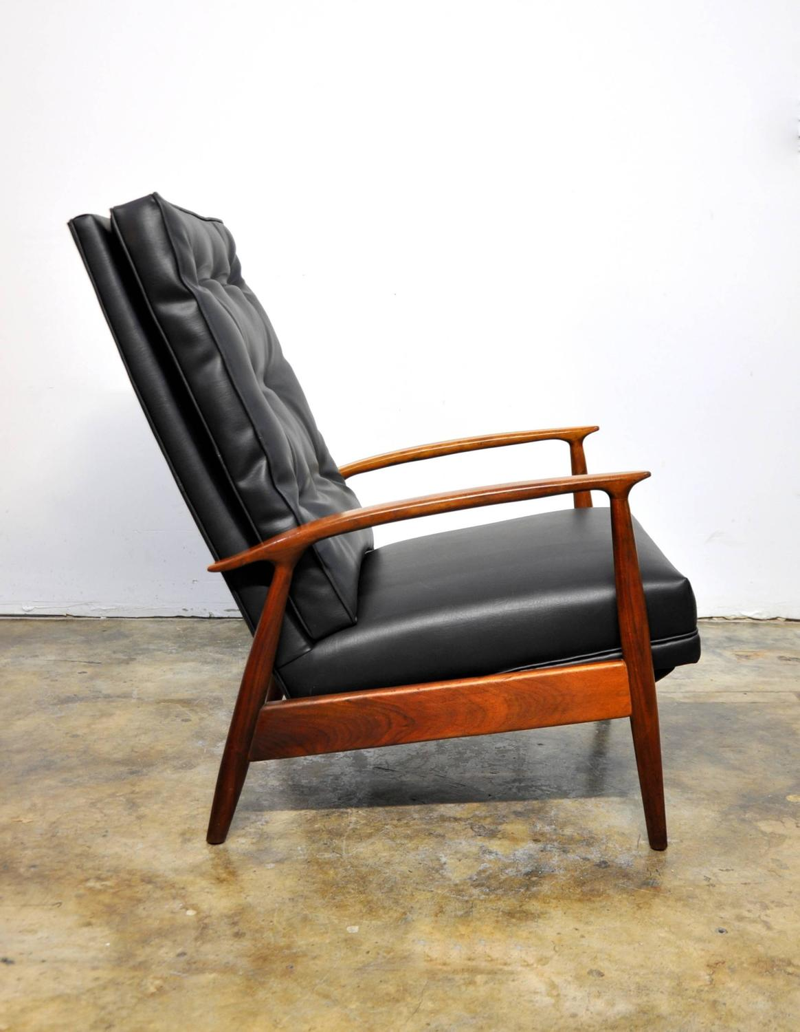 Milo Baughman For James Inc Lounge Chair Recliner At 1stdibs