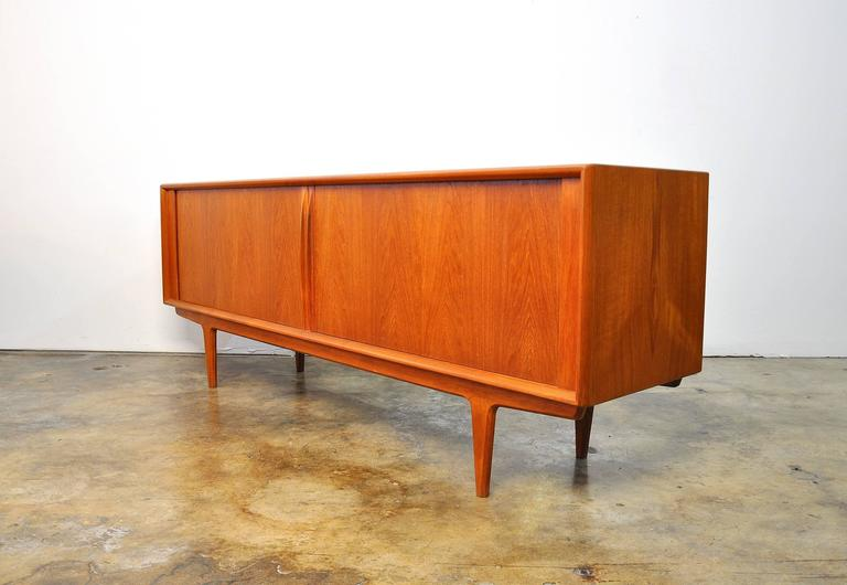 Danish Bernhard Pedersen & Son Teak Credenza, Model 156 For Sale