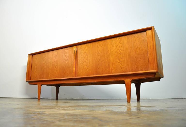 Bernhard Pedersen & Son Teak Credenza, Model 156 For Sale 3