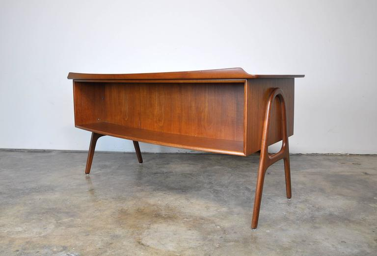 Mid-20th Century Svend Aage Madsen Teak Desk For Sale