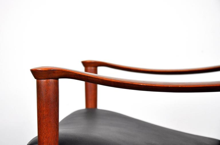 Fredrik Kayser for Vatne Møbler Teak Lounge Chair and Ottoman 9