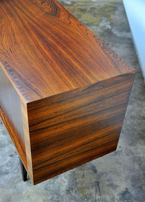 H.W. Klein for Bramin Rosewood Credenza Bar For Sale 2