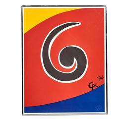 Alexander Calder, Sky Swirl, 1974