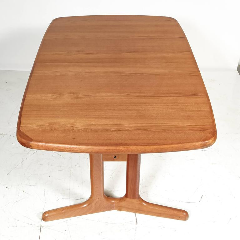 danish teak dining room table 1970s for sale at 1stdibs teak warehouse dining room table sets