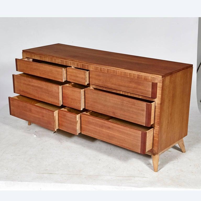 Eliel saarinen low chest of drawers for rway furniture for Eliel saarinen furniture