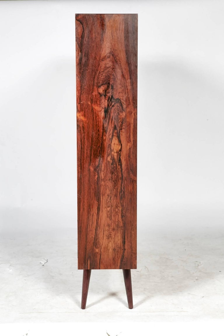 20th Century Danish Rosewood Bookcase, 1960s For Sale