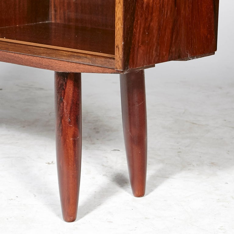 Scandinavian Modern Danish Rosewood Small Bookcase, 1960s For Sale