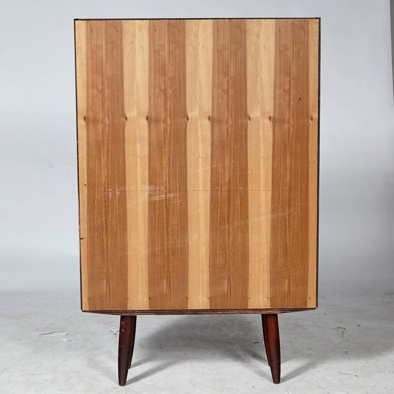Danish Rosewood Small Bookcase, 1960s For Sale 1