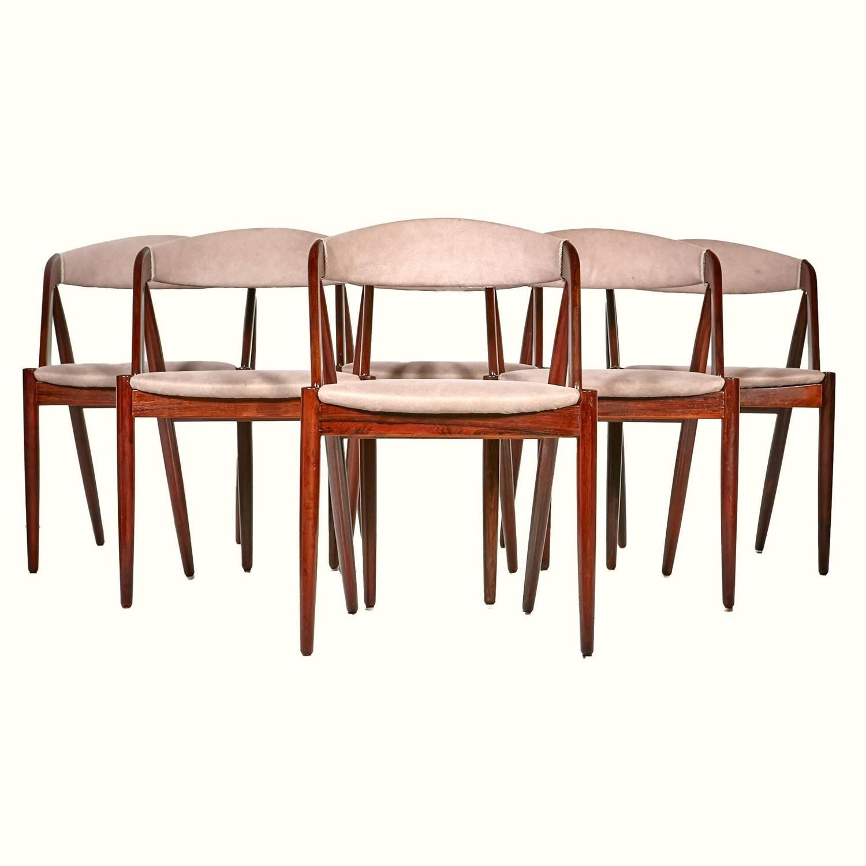 Kai Kristiansen Model 31 Rosewood Dining Chairs Set Of