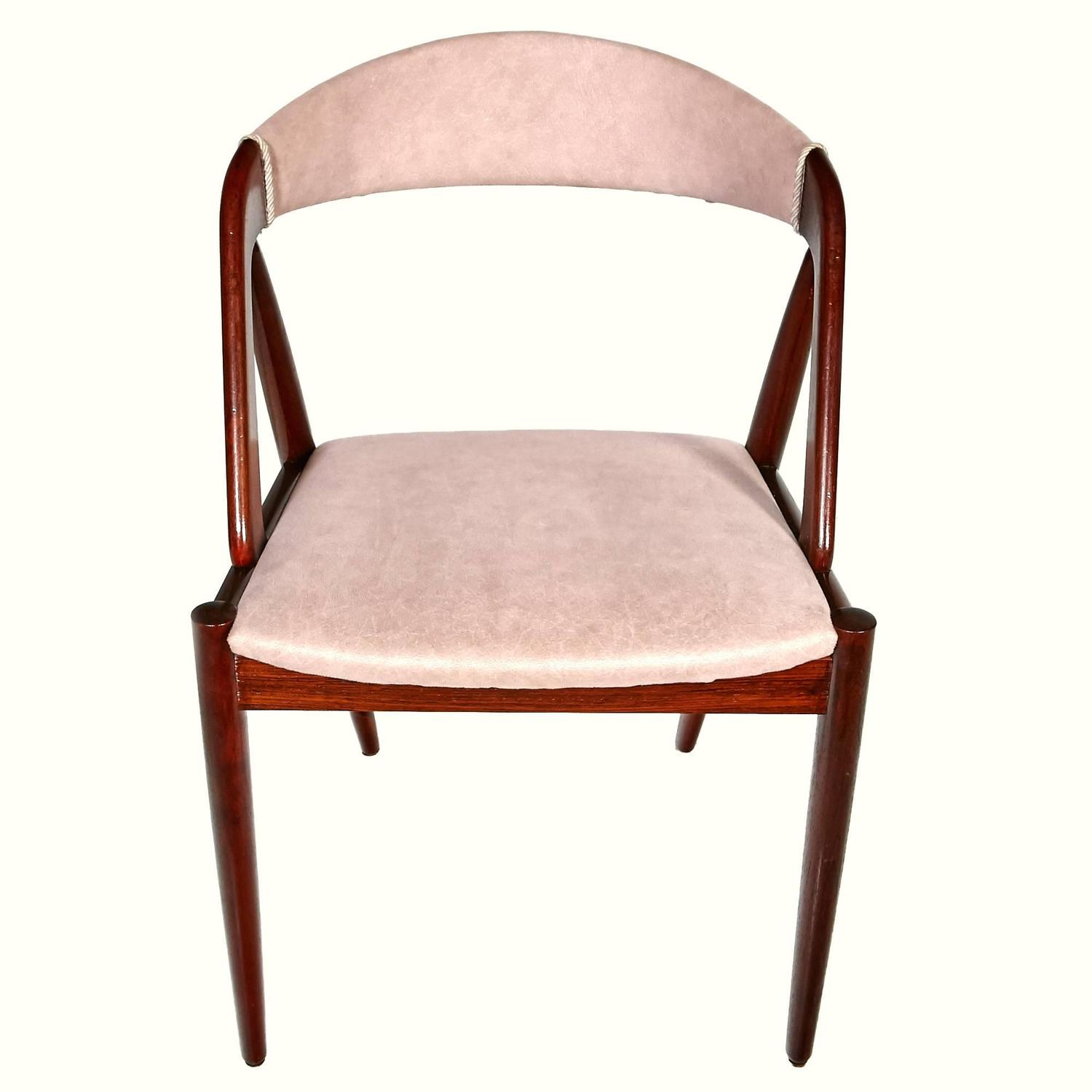 Kai Kristiansen Model 31 Rosewood Dining Chairs Set Of Six At 1stdibs
