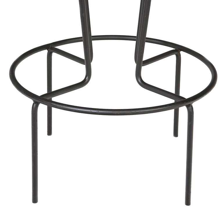 1950s Frederick Weinberg Iron Bar And Stools At 1stdibs
