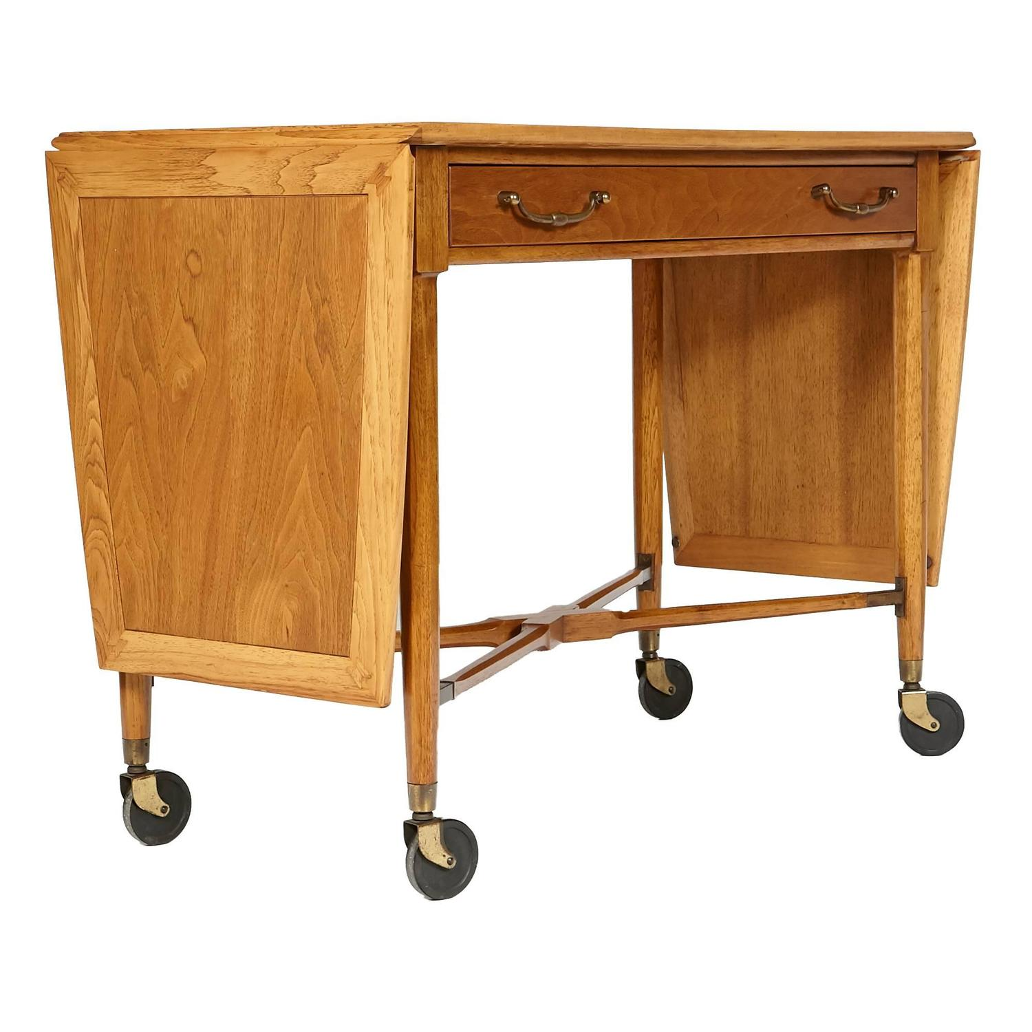 1960s Tomlinson Rolling Bar Cart For Sale At 1stdibs