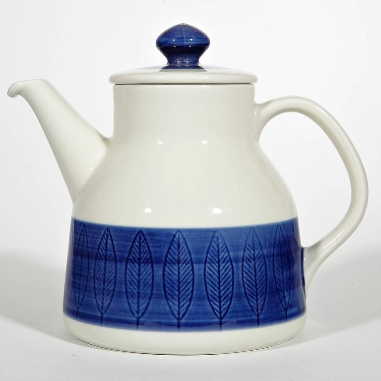 Rörstand of Sweden set of four tea or coffee service in the